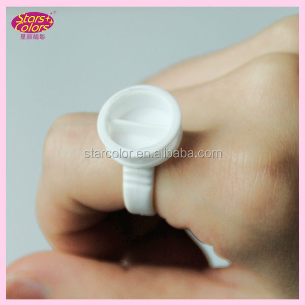 Professional rings for eyelash extension