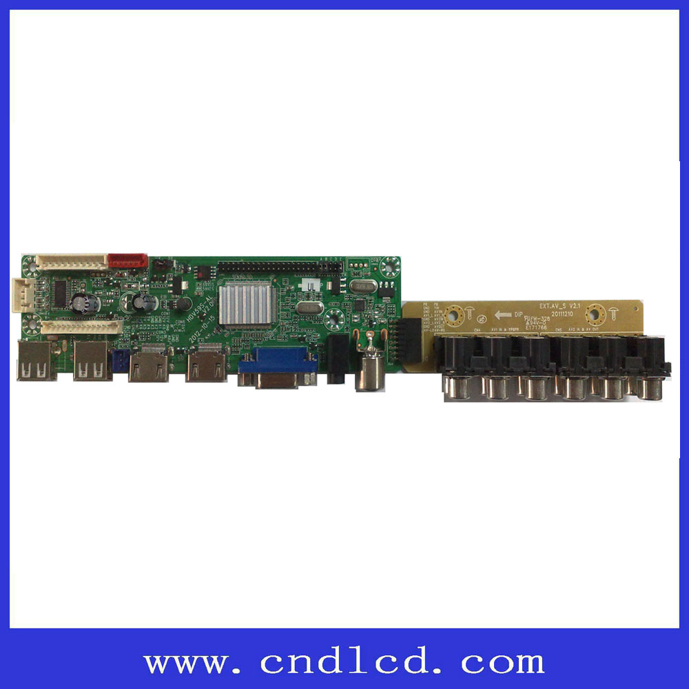 Jumper cap selecting panel resolution 65inch 42 inch Samsung LCD Panel TV Mother Card Board