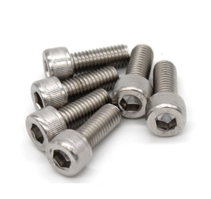 stainless steel 304 m7 m3 hex socket head cap screw bolts m5 55mm