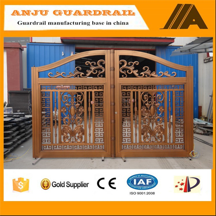 Ajly-617 Alibaba Express Aluminum House Gate Color