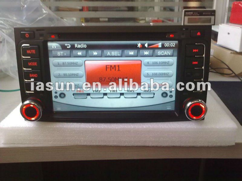 7 inch 2 Din Car DVD GPS for VW New GOLF