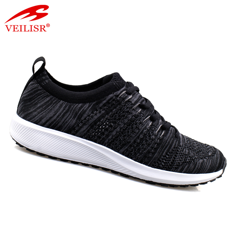 Most popular men sport upper knit fashion fabric shoes sneakers xPgHq
