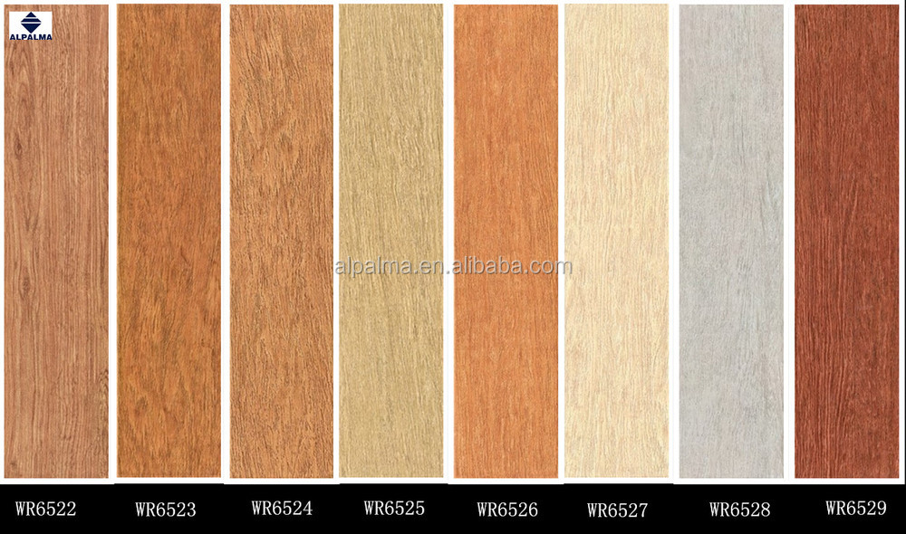 Good Quality Wood Tile Design Self Adhesive Ceramic Floor Tiles ...