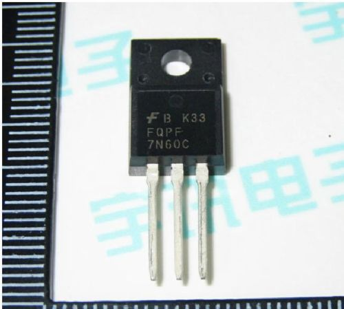 5PCS SSS7N60B 7N60 600V N-Channel MOSFET TO-220 NEW