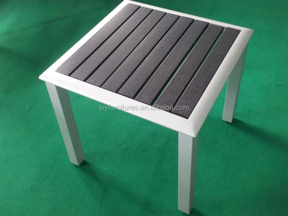 PS Slats Outdoor Furniture Polywood Bistro Table and Chair Poly Wood Leisure Furniture