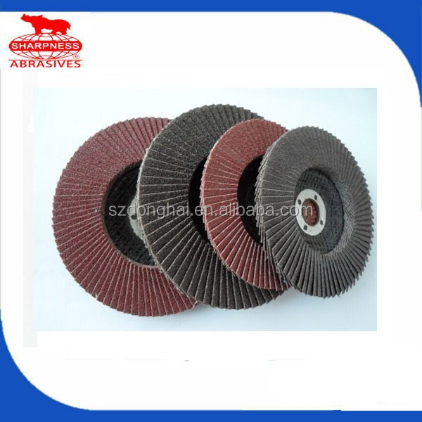 HD069 brand sharpness flap disc for ceramic