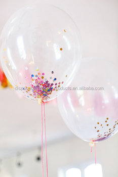 Confetti Balloons Hot Orted Giant Wedding Party Helium Balloon 36 Inch 36inch