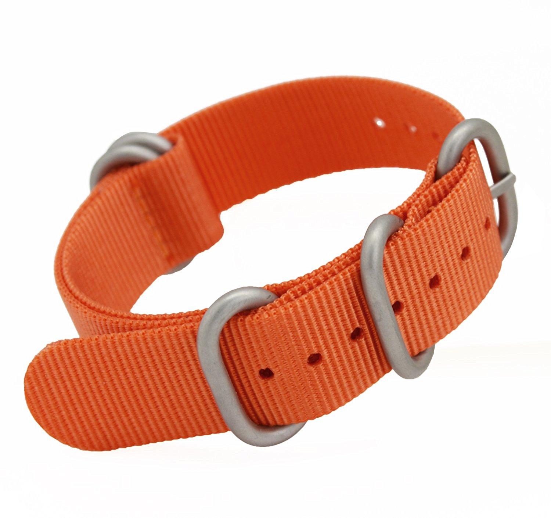 MetaStrap 20mm Nylon Watch Band Zulu Strap