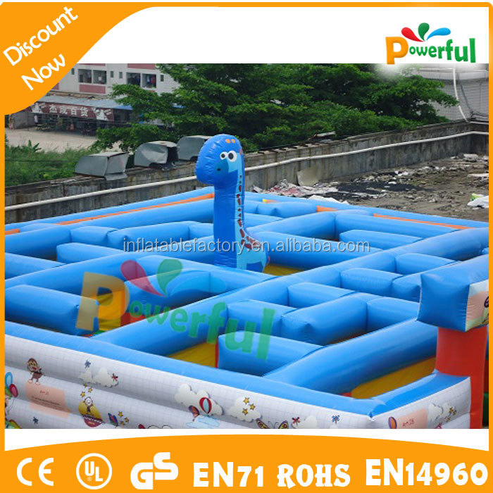 High Quality Crazy Start Laser Tag Inflatable Labyrinth