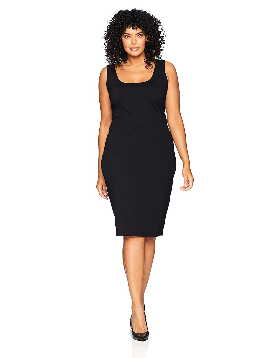 City Chic Women's Apparel Women's Plus Size Dress Body Con Blk