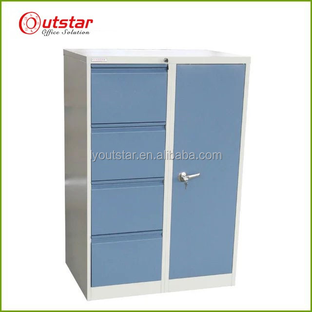 Cheap Waterproof Vertical 4 drawer metal outdoor storage <strong>cabinets</strong>