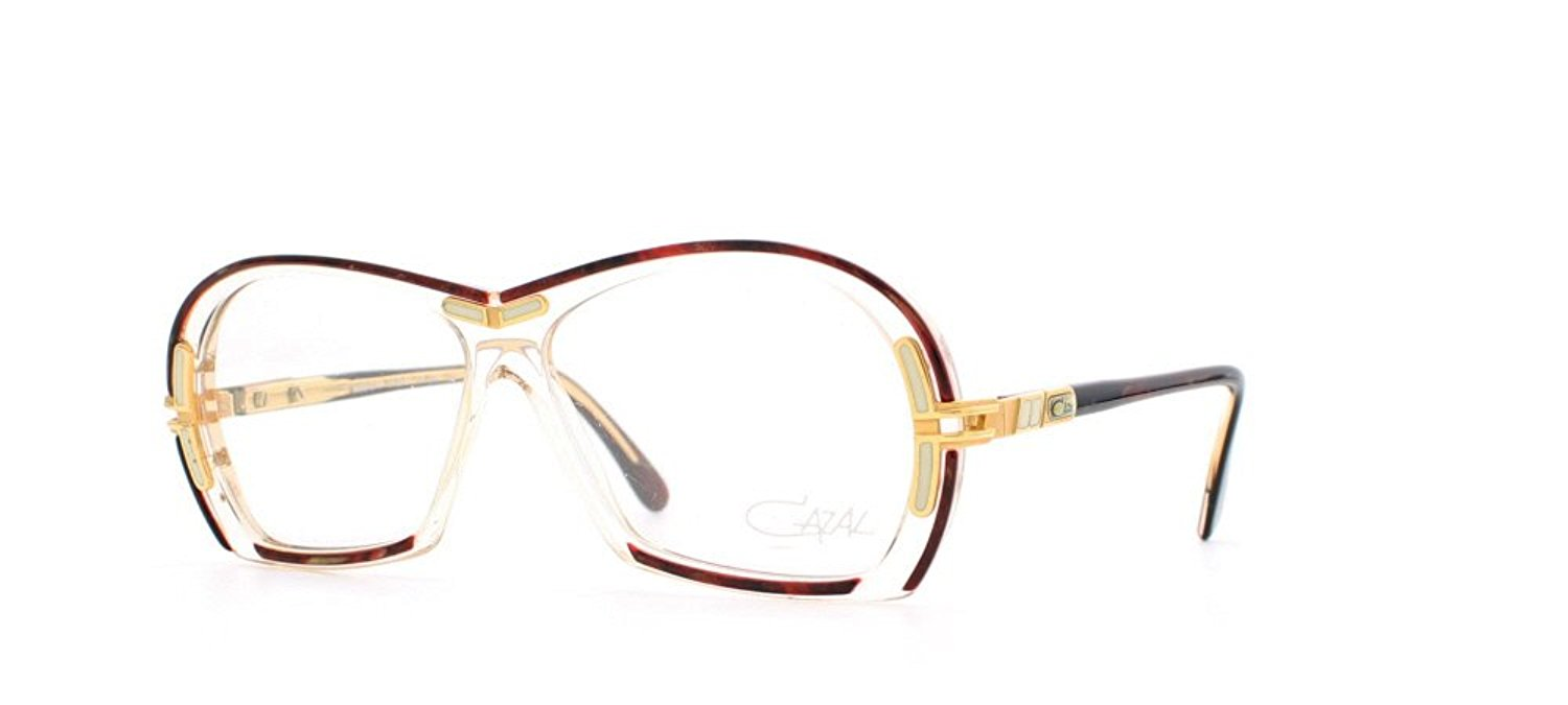 693cc7a7f191 Get Quotations · Cazal 314 634 Red and Clear Authentic Women Vintage  Eyeglasses Frame
