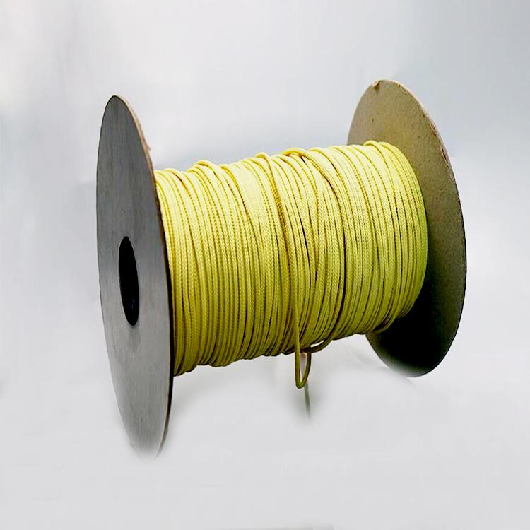 Alta qualidade personalizado 18mm trançado corda de fibra de aramida