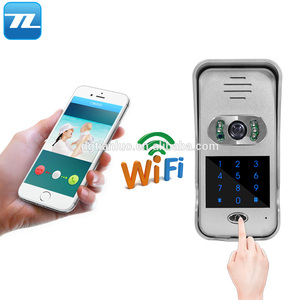 Tianluo WIFI Video Doorbell Camera Smart Security Wifi Ring Video Doorbell with Night Vision