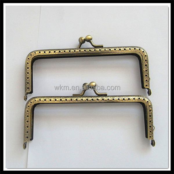 bag frame closure hardware