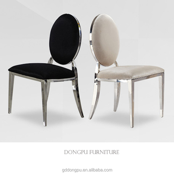 Cheap Low Price Stainless Steel Chairs Simple Design Dining Room Chair  Banquet Wedding Restaurant Chairs Wholesale