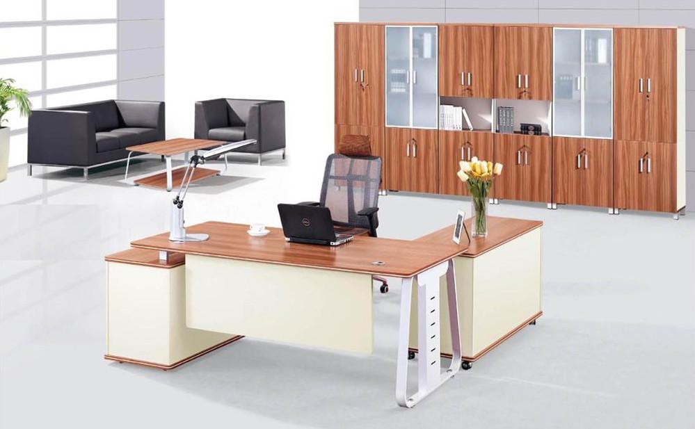 Moderne executive bureau en stoel ontwerpen specificaties kantoor