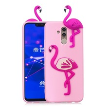 Soft Tpu Case Cover 3D Toy Panda Cactus Silicone Phone Case for Huawei Mate 20 Lite Mate 10 Lite Papa Funda Case