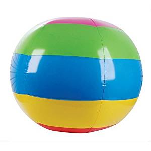 """GIANT BEACH BALL - 48"""" - Inflatable Pool Toy"""