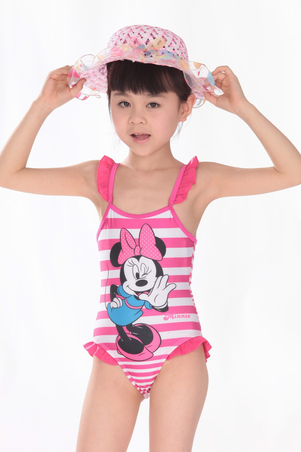 Buy Retail Cute Swimwear Bathers Minnie Swimsuit for girls UV protection swimwear  children bathing suits kids one piece swim suits in Cheap Price on ... 918bc28acd20