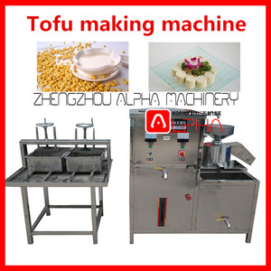 Soya milk machine tofu manufacturing equipment