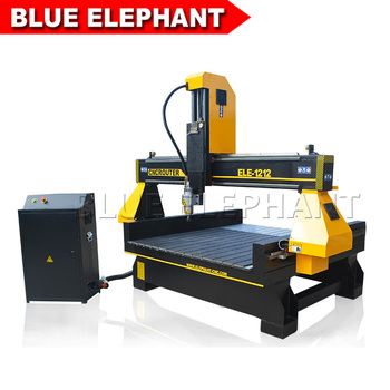 Homemade CNC engraving 3d sculpture woodworking machine craftsman cnc router 1212 with high z axis