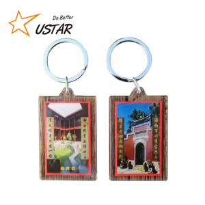 Factory Custom Wholesales High Quality New Design Fashion Casting Metal Keychain/3D Effect Keychain/Acrylic Keychain