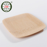 sushi plate eco-friendly disposable bamboo sushi plate
