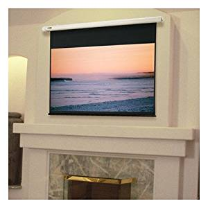 """Salara Plug & Play Radiant Electric Projection Screen Viewing Area: 60"""" H x 60"""" W"""