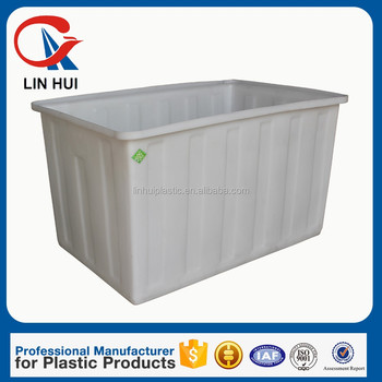Oem Durable Lldpe Large Plastic Open Top Water Storage Tank - Buy Open Top  Water Tank,400l Large Plastic Open Top Water Tank,Pe Open Top Water Tank