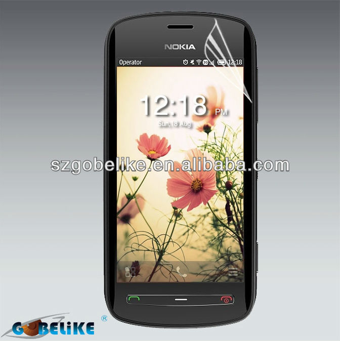 Clear screen protective film for mobile phone of Nokia 808