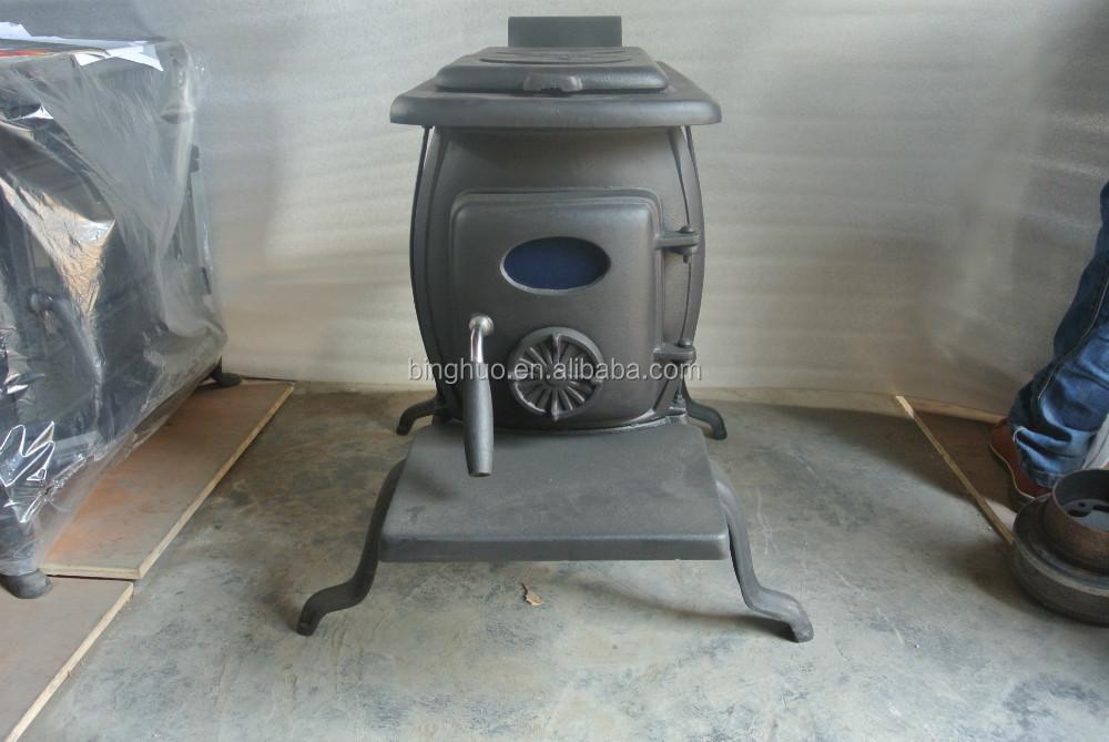 Fonte poêle à bois, chauffeeauPoêleID de produit
