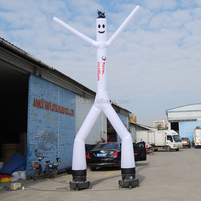 Custom wacky inflatable air dancer blower tube man