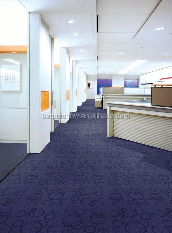 Light Grey Commercial Hotel Carpet Tile, Office Carpet