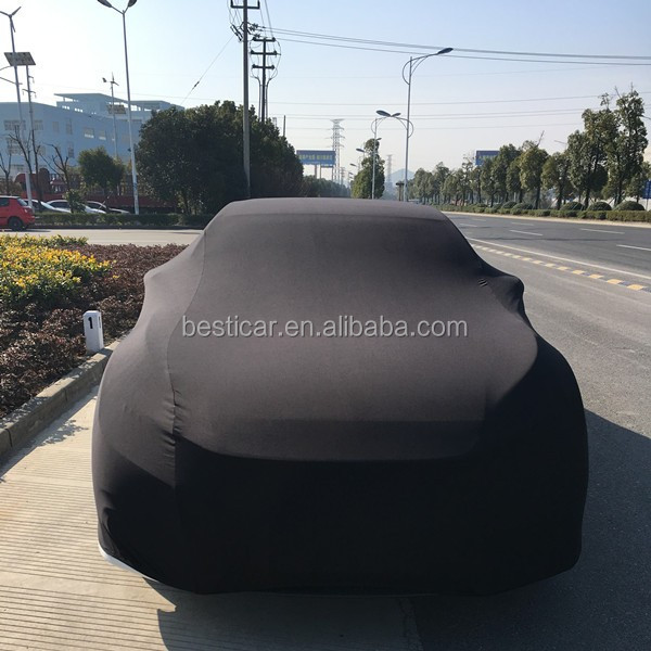 Auto Cover Custom Hagel Bescherming Smart Satijn Polyester Stretch Stof Full Body Auto Cover