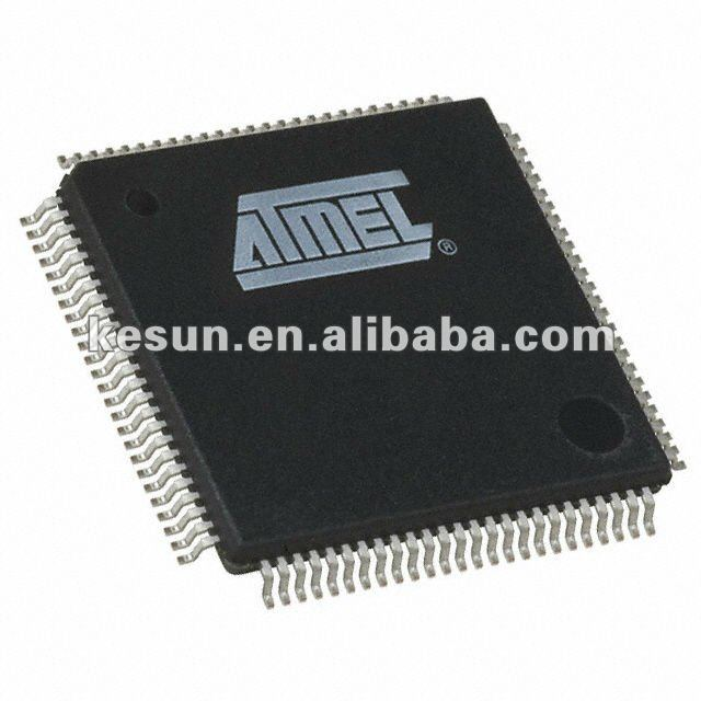 100% NEW ATMEL AT91SAM7XC512 91SAM7XC512 ARM7 MCU FLASH 512K 100LQFP IC(AT91SAM7XC512-AU)