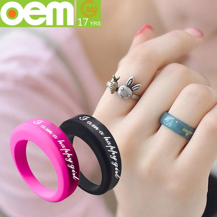 fashion silicone finger ring big silicone wedding band buy