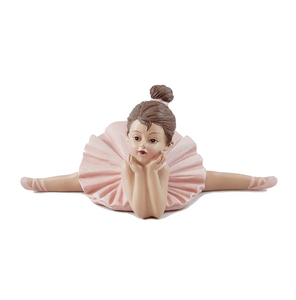 Resin Dreaming Ballerina Girl Figurine