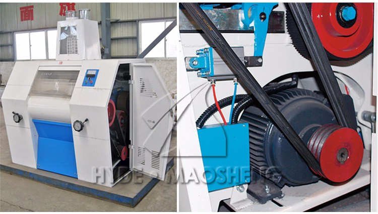 Fully automatic durum wheat pneumatic grain mills