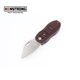 Mini Stainless Steel Knife Small Pocket Knife Outdoor Camping Knife Own Patent with LED