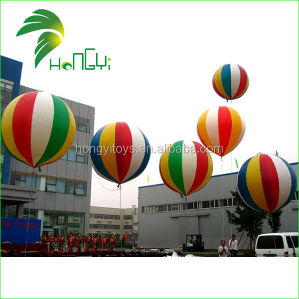 OEM Accepted Good Item Inflatable Helium Balloon Advertising