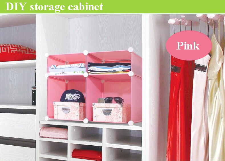 4 Cubes Living Room Cabinet,Easy Assemble And Disassemble(fh-al0511 ...