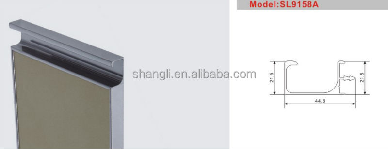 Aluminium Profile Handles And Knobs For Drawer,Door,Kitchen