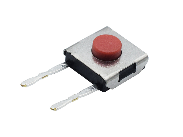 TS66HB2J-X DIP Side Pressure Switch 2 pin 6x6 red tact switch