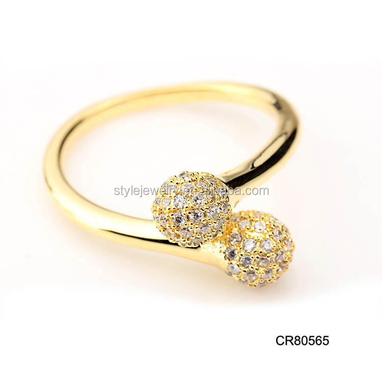 Cr80564 Wholesale Latest Design Fashionable Saudi Gold Rings Men\'s ...