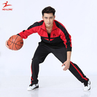 Sports Leather Polyester Tracksuit Wholesale Material Cheap Custom Tracksuit