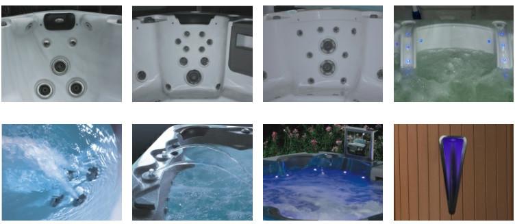 Jazzi Hot Sale Skt329e Freestanding Massage Ozone Bath Tub Indoor ...