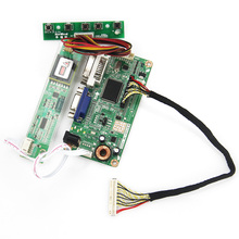 For LP154WX4-TLD2 LTN154X3-L09 VGA+DVI M.RT2261 LCD/LED Controller Driver Board 1280×800 LVDS Monitor Reuse Laptop