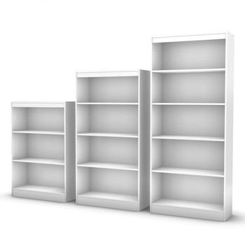 High quality rustic wood bookcase with cheap price