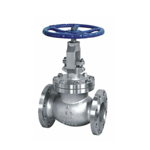 Class 150 3 inch carbon steel globe valve with flanged ends